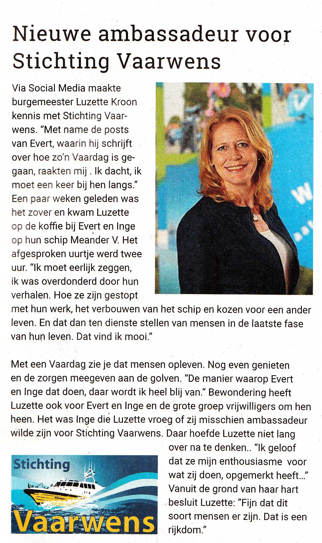 Waterlands Weekblad Luzette